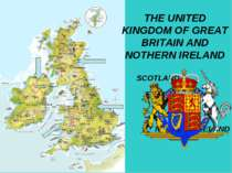 THE UNITED KINGDOM OF GREAT BRITAIN AND NOTHERN IRELAND SCOTLAND ENGLAND WALE...