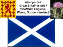 What part of Great Britain is this? (Scotland, England, Wales, Northern Ireland)