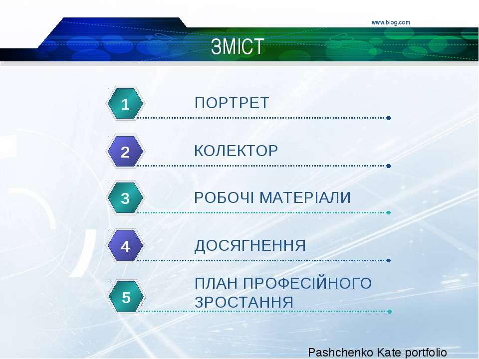 www.blog.com ЗМІСТ