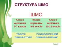 СТРУКТУРА ШМО Free Powerpoint Templates Page *