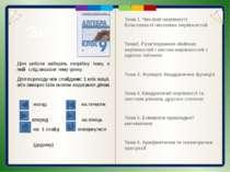 Побудуємо графіки функцій і дослідимо їх властивості 1) 9 4 1 0 1 4 9 4 9 2 3...
