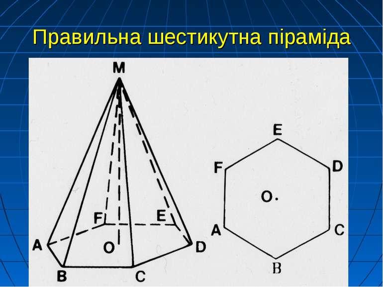 Правильна шестикутна піраміда