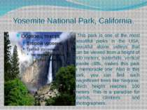 Yosemite National Park, California. This park is one of the most beautiful pa...