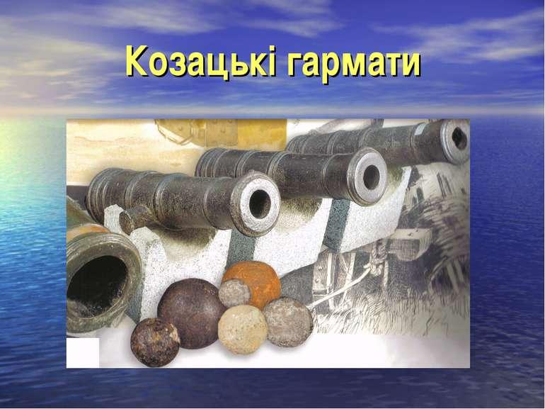 Козацькі гармати