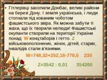 Гітлерівці захопили Донбас, великі райони на березі Дону. І земля українська,...