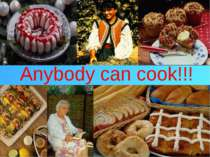 Anybody can cook!!!