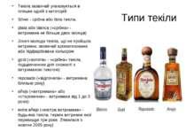 Текіла зазвичай упаковується в пляшки одній з категорій: Текіла зазвичай упак...