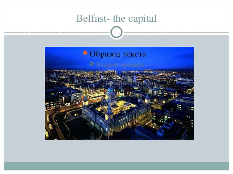 Belfast- the capital