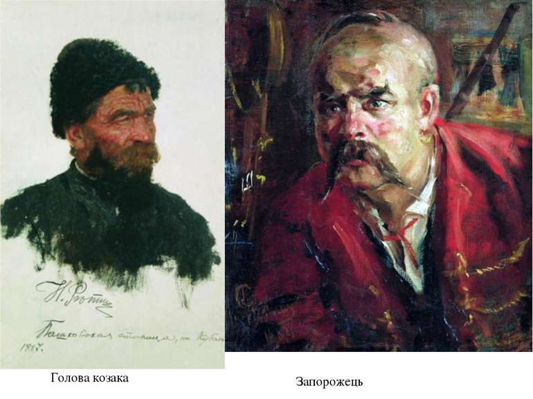Голова козака Запорожець