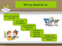 Метод проектів це: сукупність прийомів, дій учнів в їх певній послідовності д...