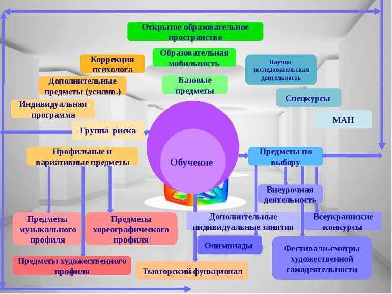 Образовательная мобильность Предметы по выбору Профильные и вариативные предм...