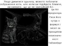 Якщо дивитися здалеку, можете побачити зображення кота, але коли ви підійдете...