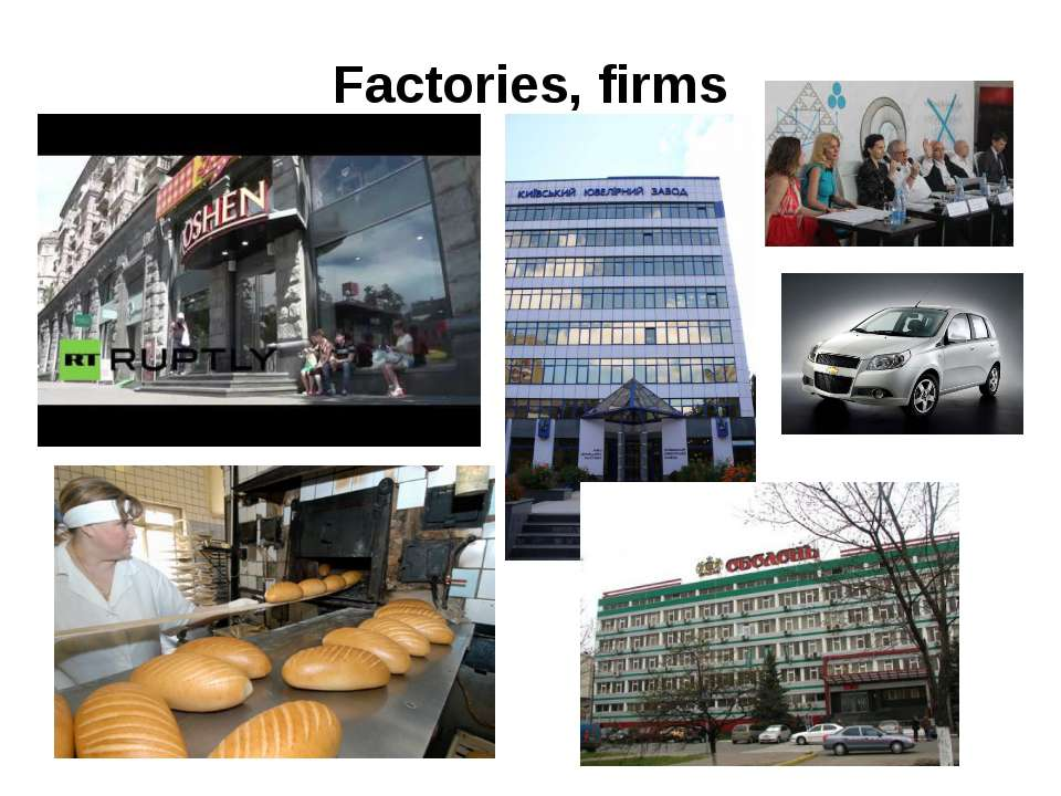 Factories, firms