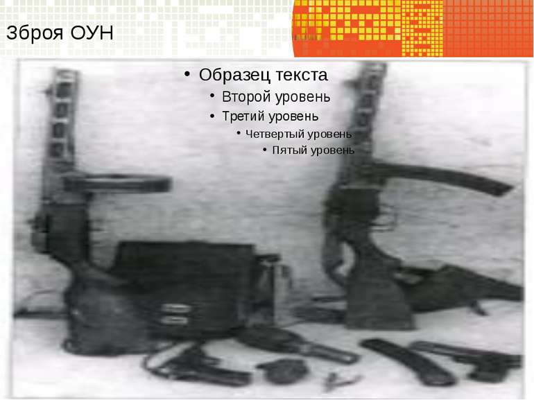Зброя ОУН