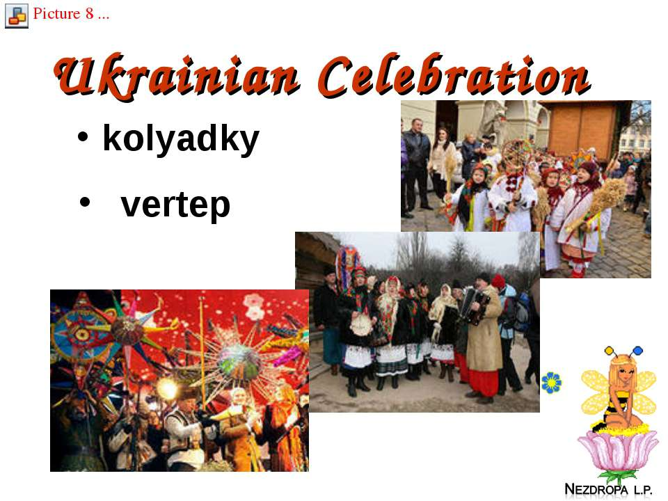 Ukrainian Celebration kolyadky vertep