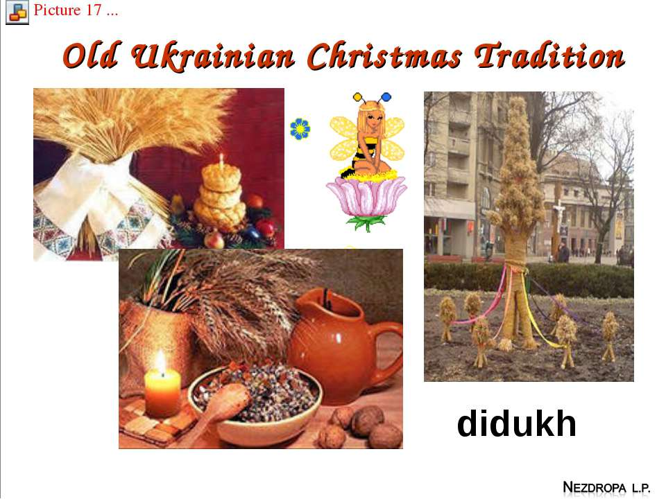 Old Ukrainian Christmas Tradition didukh