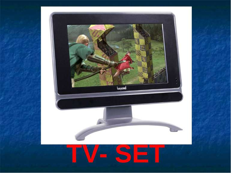 TV- SET