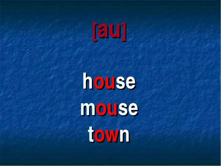 [au] house mouse town