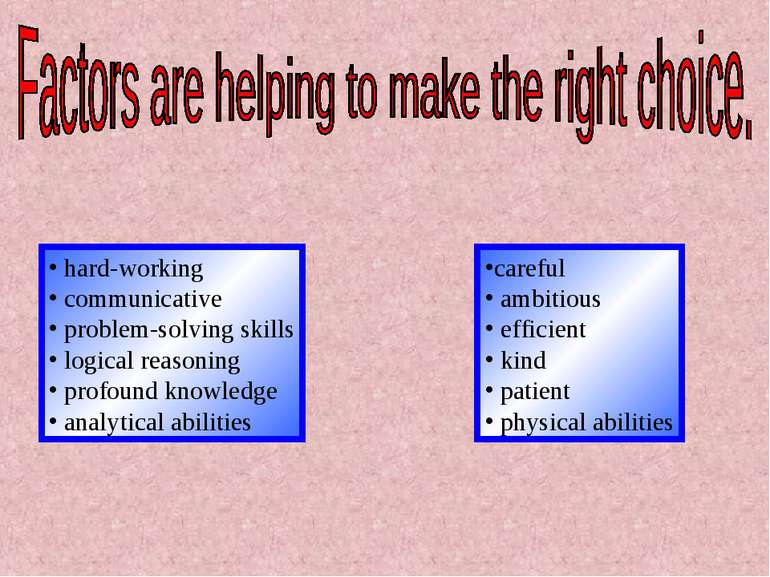 hard-working communicative problem-solving skills logical reasoning profound ...
