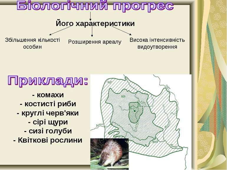 Його характеристики Збільшення кількості особин Розширення ареалу Висока інте...