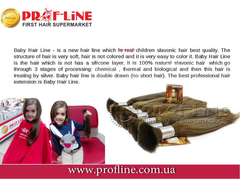 Baby Hair Line - is a new hair line which is real children slavonic hair ...