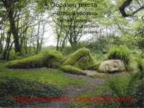Парк в Коста-Ріко. Скульптура з моху
