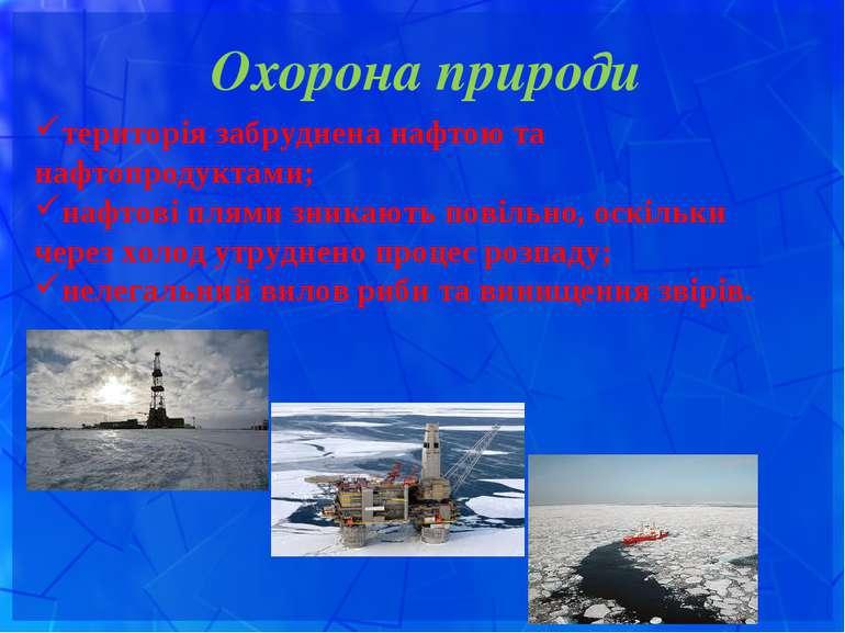 Охорона природи територія забруднена нафтою та нафтопродуктами; нафтові плями...