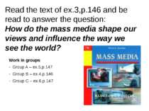 Read the text of ex.3,p.146 and be read to answer the question: How do the ma...