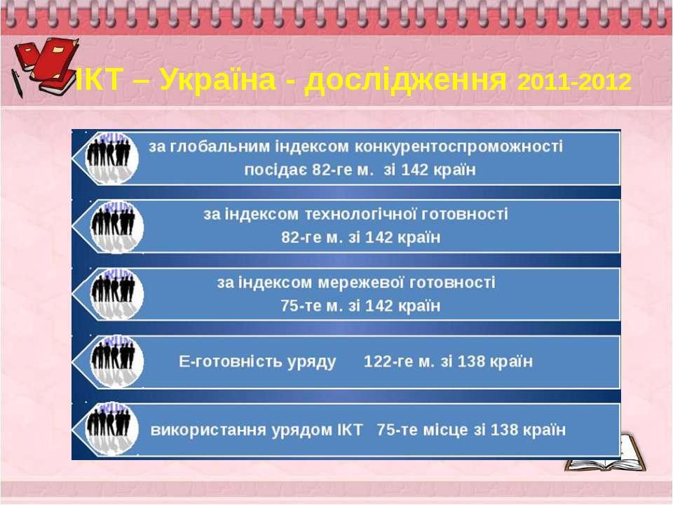 ІКТ – Україна - дослідження 2011-2012