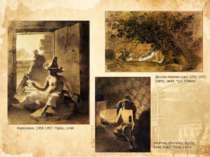 Киргизеня, 1856-1857. Папір, сепія Дерева Мангишлаку 1851-1852. Папір, сепія,...