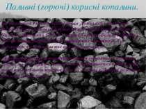 Паливні (горючі) корисні копалини. На території України знаходяться Донецький...