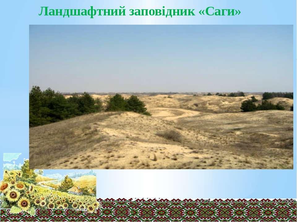 Ландшафтний заповідник «Саги»