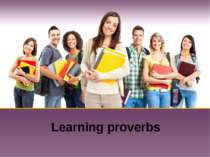 Learning proverbs