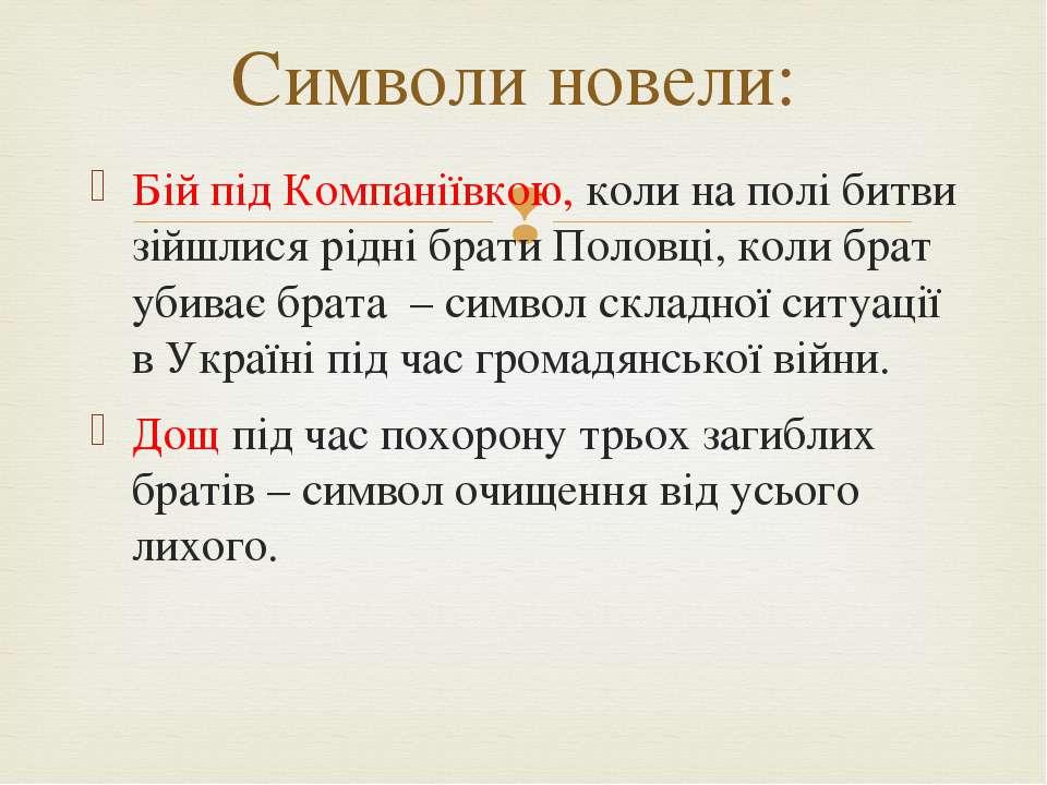 Бій під Компаніївкою, коли на полі битви зійшлися рідні брати Половці, коли б...