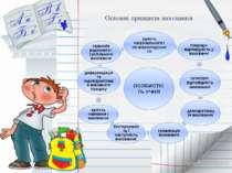 Основні принципи виховання ОСОБИСТІСТЬ УЧНЯ
