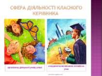 організатор діяльності учнів у класі координатором виховних впливів на учня w...
