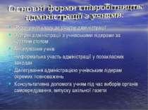 Збори учнів класу за участю адміністрації Зустрічі адміністрації з учнівським...