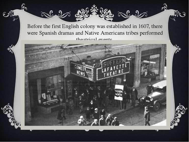 Before the first English colony was established in 1607, there were Spanish d...