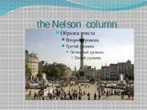the Nelson column