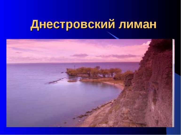 Днестровский лиман