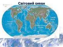 Світовий океан Тихий океан