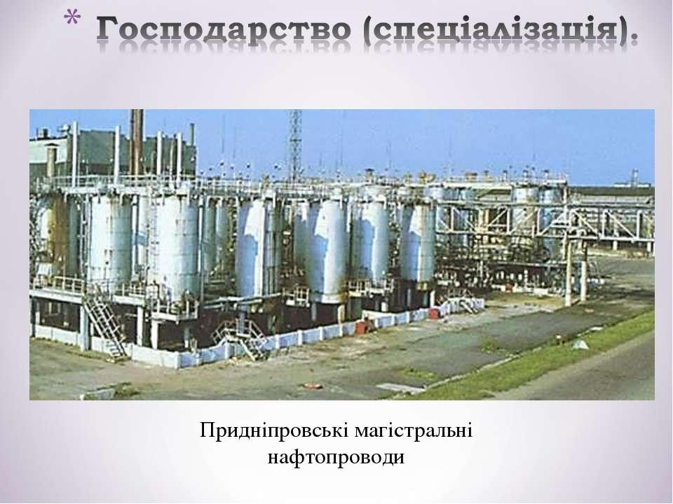 Придніпровські магістральні нафтопроводи