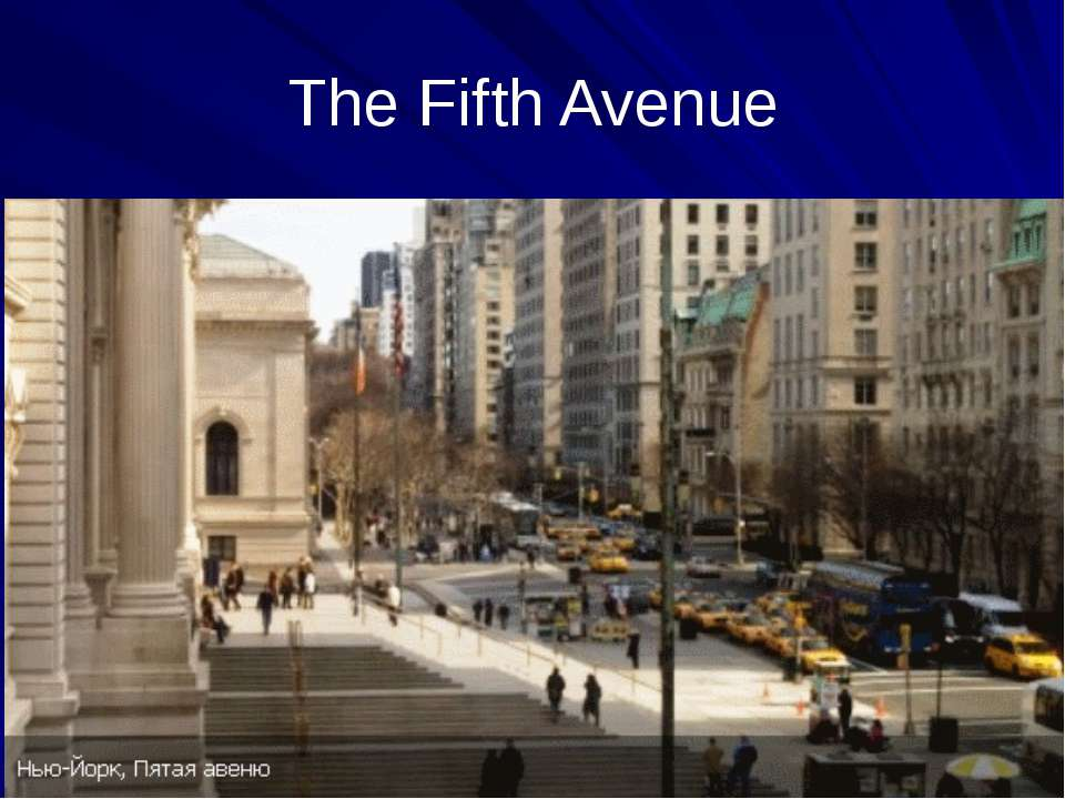 The Fifth Avenue