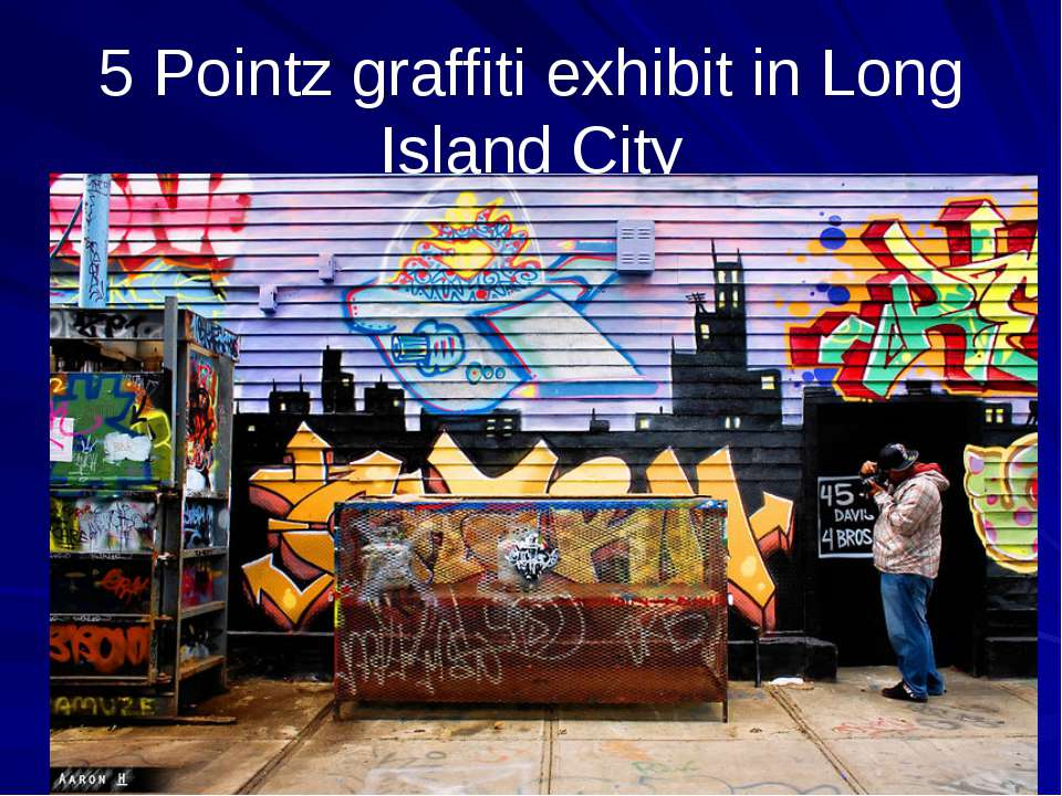 5 Pointz graffiti exhibit in Long Island City