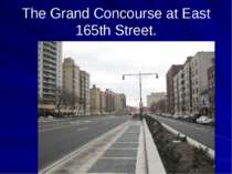 The Grand Concourse at East 165th Street.