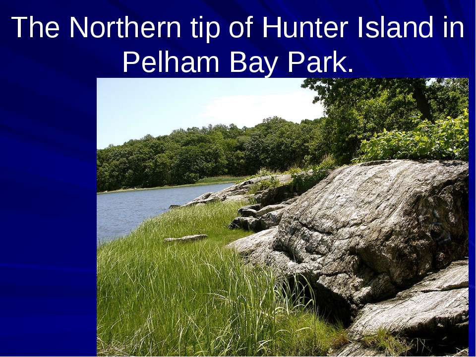The Northern tip of Hunter Island in Pelham Bay Park.