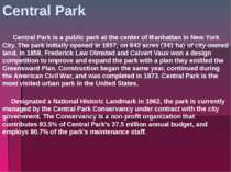 Central Park Central Park is a public park at the center of Manhattan in New ...