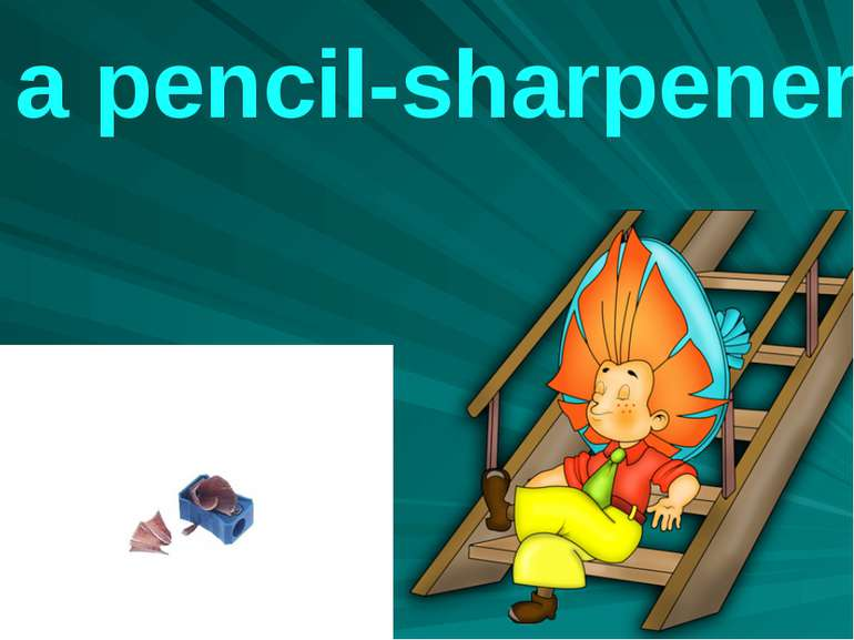 a pencil-sharpener