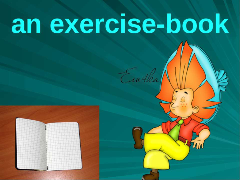 an exercise-book