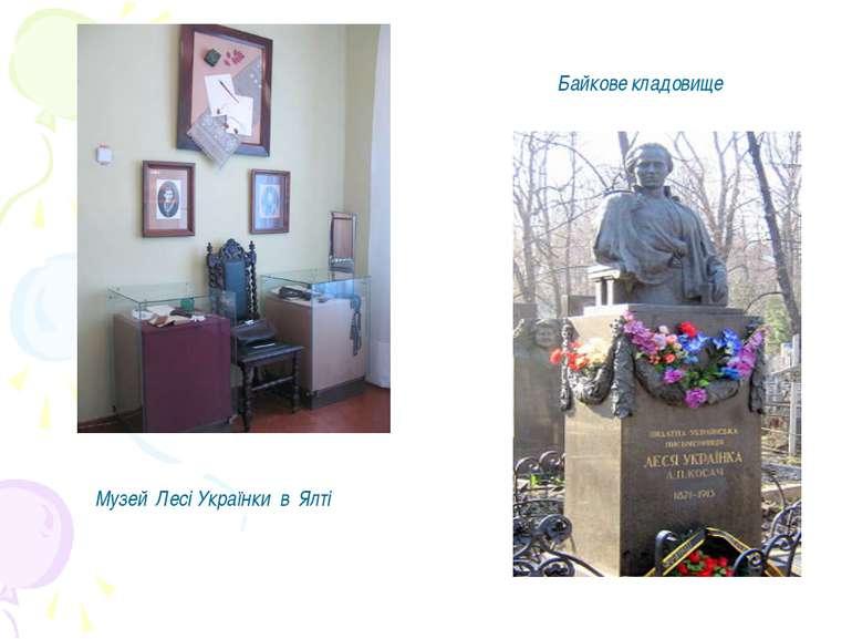 Музей Лесі Українки в Ялті Байкове кладовище